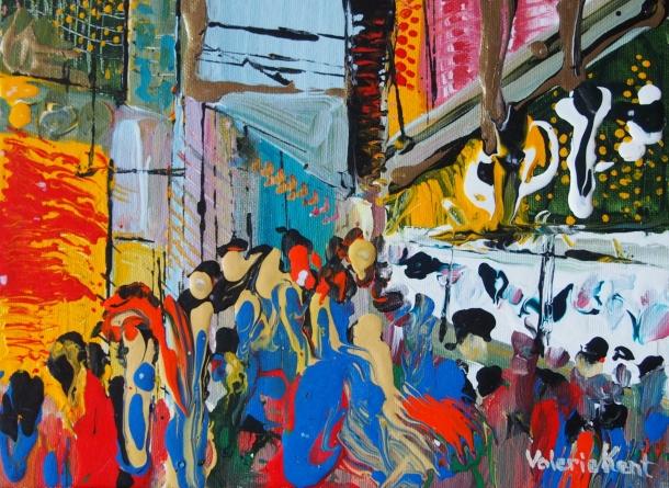 Valerie Kent-The Street Market