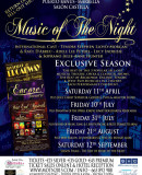 RETURN OF THE SELL-OUT SHOW - Music of the Night - Música de la Noche - Marbella 2015