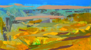 """Art Auction�Making Original Art Affordable """"Mar and Campo"""" By Artist Peter Stanway"""