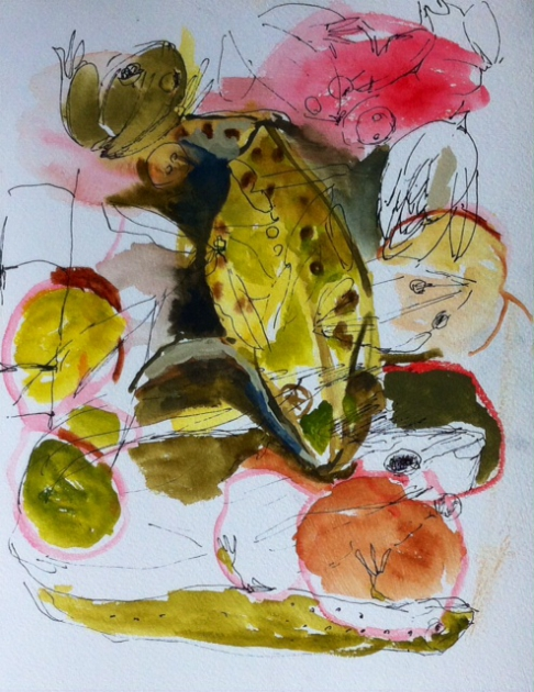 Diane - 4, froggy