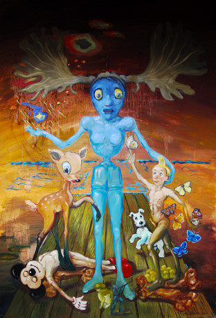 Phil Bloom - 1, 'KUIFJE' 2011 2
