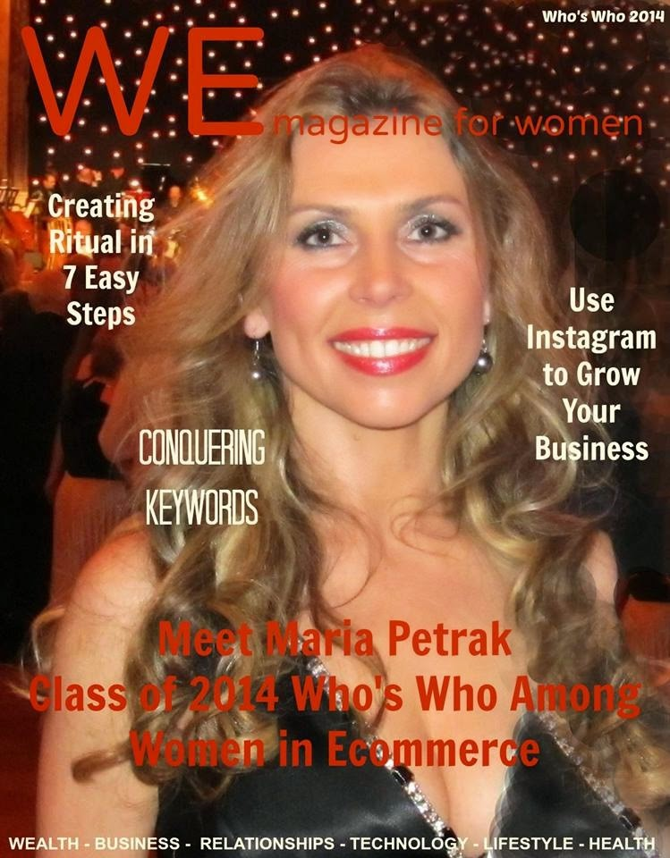 Maria Petrak WE Magazine for Women