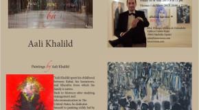 Kasser Rassu Gallery-Showroom Presents Paintings  by Aali Khalild