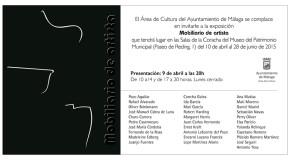 """""""Mobiliario de artista"""" / MUPAM -Málaga�"""