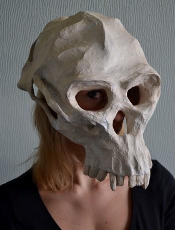 Suzanne Bo - 15, apenschedel-