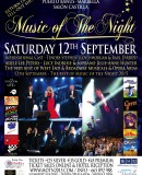 SEASON FINALE – Music of the Night – Música de la Noche – Marbella 2015 – 12th September
