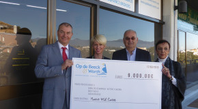 OP DE BEECK & WORTH EMPLOYEES RAISE 9,000� FOR CHARITY PARTNERS