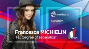 "Francesca Michielin sings ""No Degree Of Separation"" at Eurovision Song Contest 2016"
