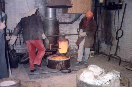 ingrid rollema - 9, bronsgieterij
