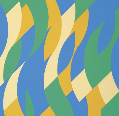 bridget riley - MB 6, Reve