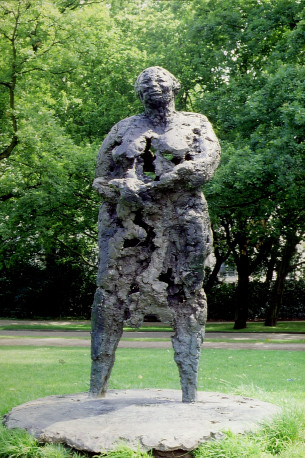 nelson - 7, Kerwin monument Moeder Rots 1984 Vondelpark