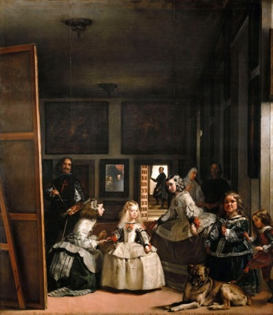 The maids of honour, or the family of Philip V *oil on canvas *318 x 276 cm *1656