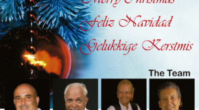 Christmas Greetings from Dario Poli of Marbella Marbella and the Team of Amsterdam the Musical