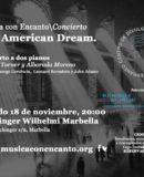"""""""THE AMERICAN DREAM"""" CONCIERTO A DOS PIANOS"""