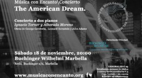 """THE AMERICAN DREAM"" CONCIERTO A DOS PIANOS"