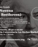 """AUDICIÓN GUIADA DE """"LA NOVENA DE BEETHOVEN)"""
