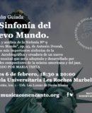 """MÚSICA CON ENCANTO-""""LA SINFONIA DEL NUEVO MUNDO"""""""