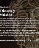"""M�SICA CON ENCANTO - """"DE DIOSES Y DE M�SICA"""""""