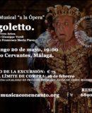 "MÚSICA CON ENCANTO – A LA ÓPERA"" RIGOLETTO"