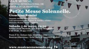M�SICA CON ENCANTO V FESTIVAL INTERNACIONAL DE JIMENA DE LA FRONTERA