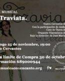"""M�SICA CON ENCANTO PRESENTA VIAJE MUSICAL """"LA TRAVIATA EN M�LAGA"""""""