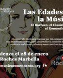 """MÚSICA CON ENCANTO PRESENTA CURSOS Y TALLERES """"LAS EDADES DE LA MÚSICA I"""""""