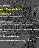 """M�SICA CON ENCANTO PRESENTA CURSOS Y TALLERES """"C�MO ESCUCHAR LA M�SICA"""""""