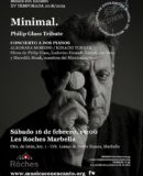 "M�SICA CON ENCANTO PRESENTA PHILIP GLASS TRIBUTE TWO PIANOS CONCERT ""MINIMAL"""