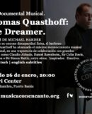 "M�SICA CON ENCANTO PRESENTA CINE DOCUMENTAL MUSICAL ""THOMAS QUASTHOFF: THE DREAMER"""