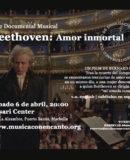 """M�SICA CON ENCANTO PRESENTA TRIBUTO A LUDWIG VAN BEETHOVEN CINE DOCUMENTAL MUSICAL """"BEETHOVEN: AMOR INMORTAL"""""""