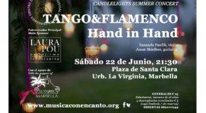 "M�SICA CON ENCANTO PRESENTA -""TANGO&FLAMENCO, HAND IN HAND"""