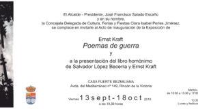 Ernst Kraft - Poemas de guerra