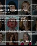 """M�SICA CON ENCANTO PRESENTA - """"MUJERES COMPOSITORAS"""""""