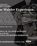 XVI TEMPORADA 2019/2020 M�SICA CON ENCANTO - PRESENTA EL TALLER MUSICAL THE MAHLER EXPERIENCE