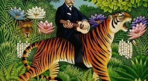 World Fine Art Professionals and their Key-Pieces, 244 - Henri Rousseau
