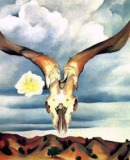 World Fine Art Professionals and their Key-Pieces, 286 - Georgia O�Keeffe