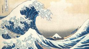 World Fine Art Professionals and their Key-Pieces, 296 - Hokusai